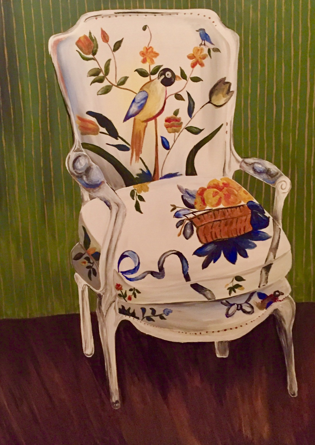 large-floral-chair
