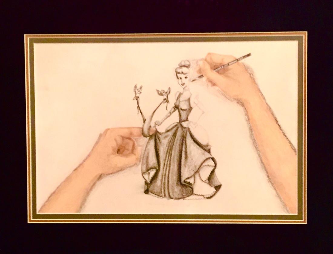 sketching-cinderella